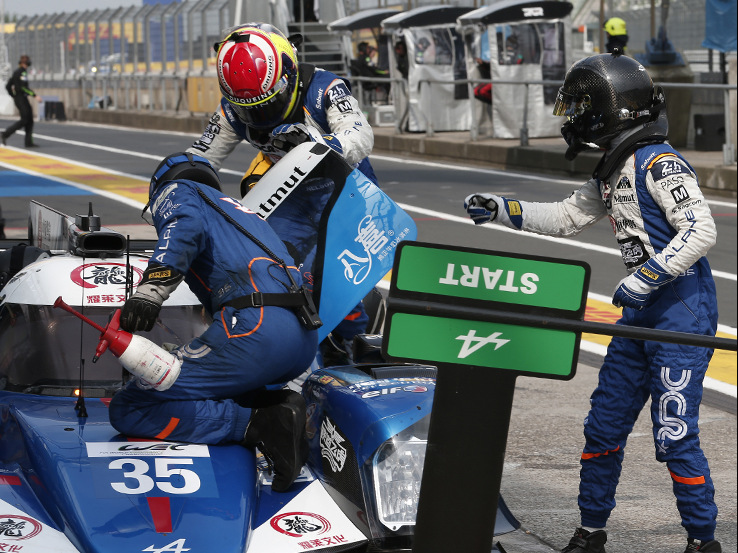 "<p>David Cheng, Nelson Panciatici and Ho Pin Tung were equally keen to perform well in the N°35 Alpine.<br /> ""We are looking to score the sort of result we believe we deserve,"" said David Cheng.Chen</p>"